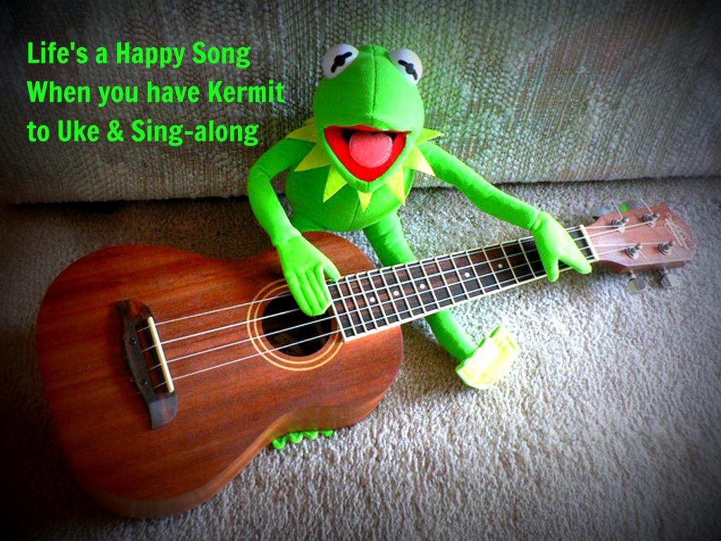 Temat główny Muppet Show na ukulele.
