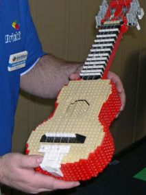 Ukulele made of Lego