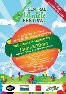 Central Ukulele Festival P. Nth 1st September @11am