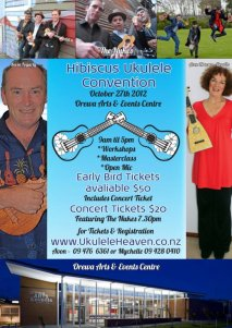 Hibiscus Ukulele Convention 27th October @ 10am